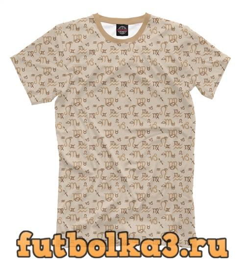 Футболка Zodiac мужская
