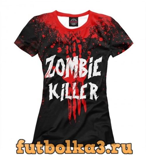 Футболка Zombie Killer женская