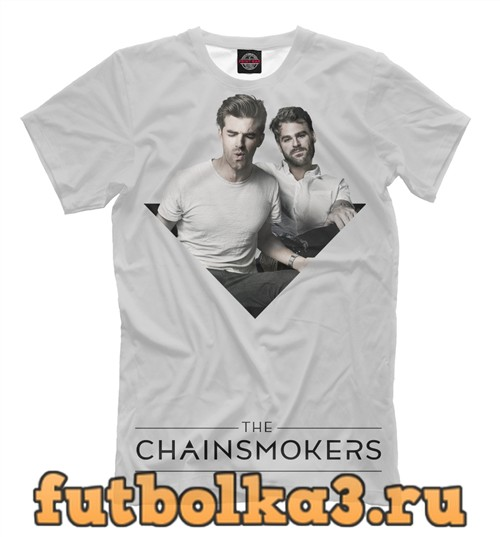 Футболка Chainsmokers мужская
