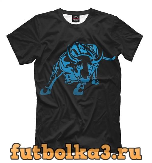 Футболка Charging bull мужская