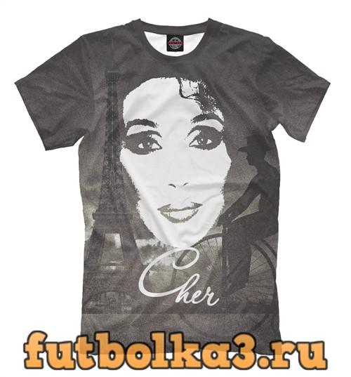 Футболка Cher мужская