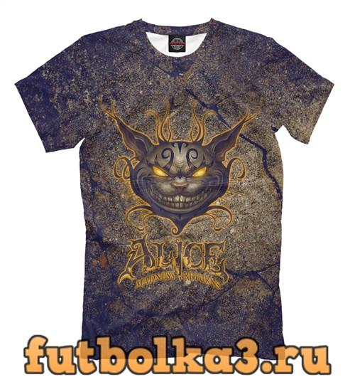 Футболка Cheshire cat мужская