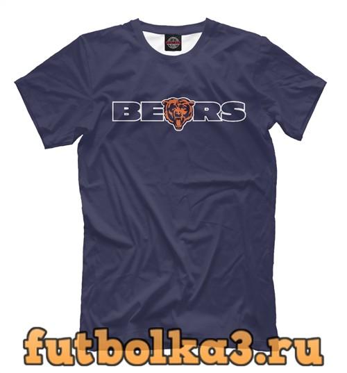 Футболка Chicago bears мужская