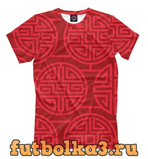 Футболка Chineese pattern мужская