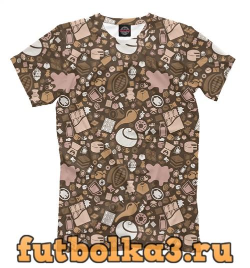 Футболка Chocolate theme мужская
