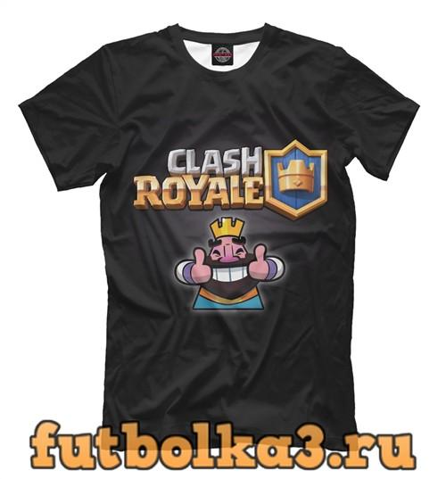 Футболка Clash royal мужская