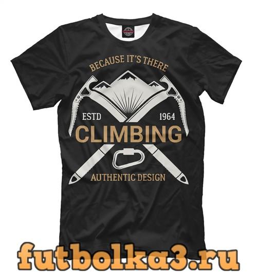 Футболка Climbing мужская
