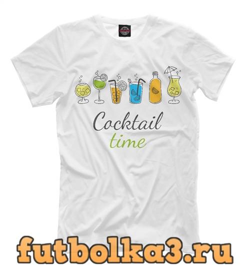 Футболка Coctail time мужская
