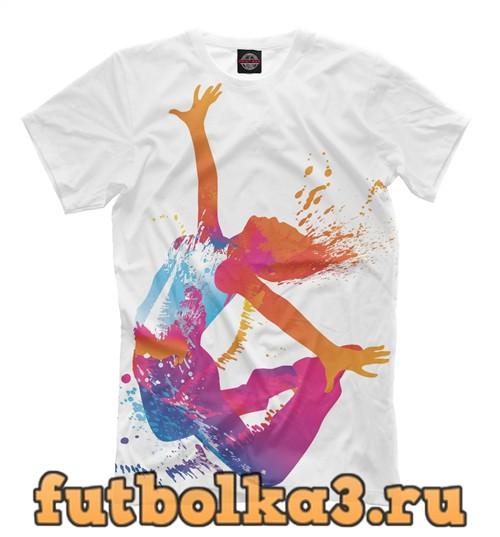 Футболка Color fitness мужская