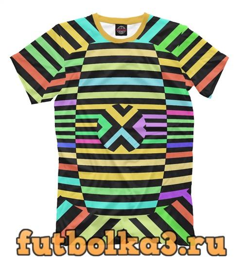 Футболка Colored strips мужская