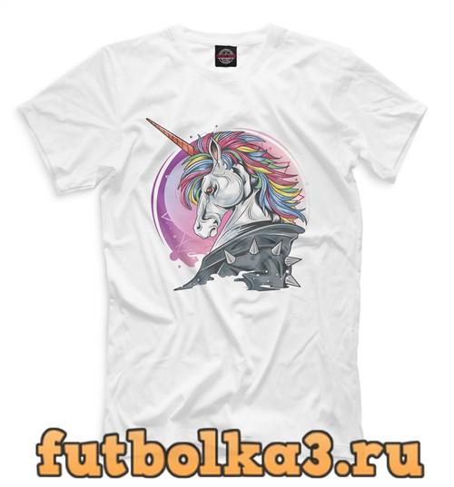 Футболка Colorful unicorn мужская
