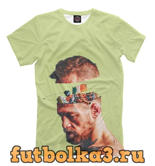 Футболка Conor mcgregor- brain мужская