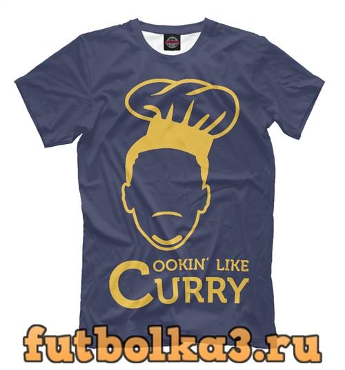 Футболка Cooking like curry мужская