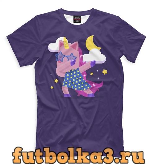 Футболка Cool unicorn мужская