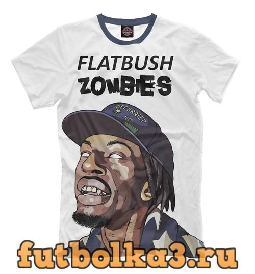 Футболка Flatbush zombies мужская