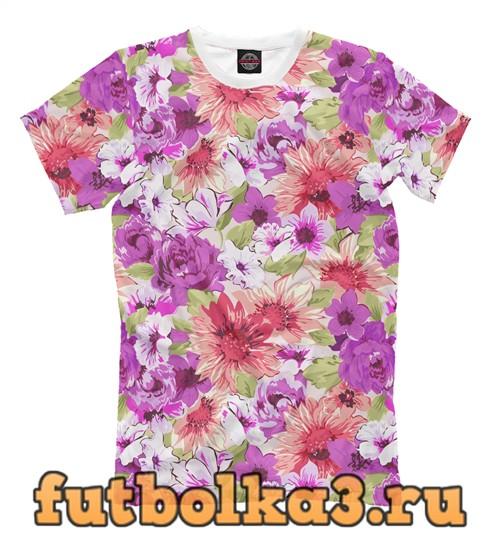 Футболка Floral mix мужская