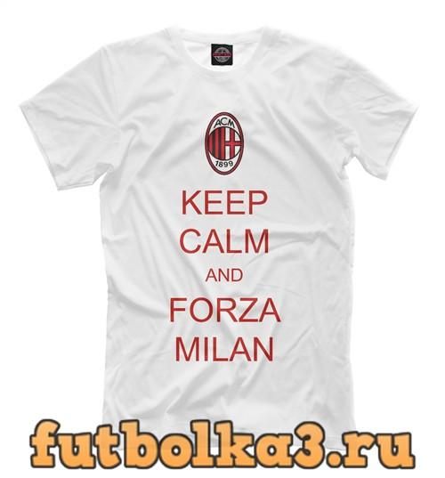 Футболка Forza milan мужская