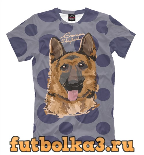 Футболка German shepherd мужская