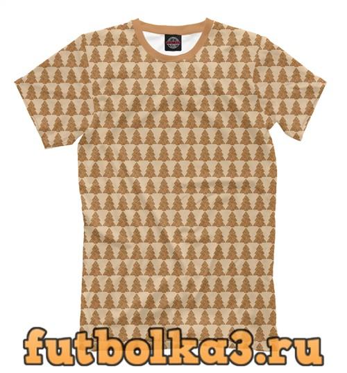 Футболка Имбирные елочки мужская