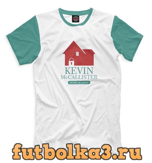Футболка Один дома мужская