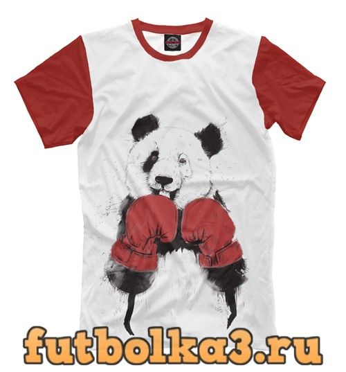 Футболка Панда-боксер мужская