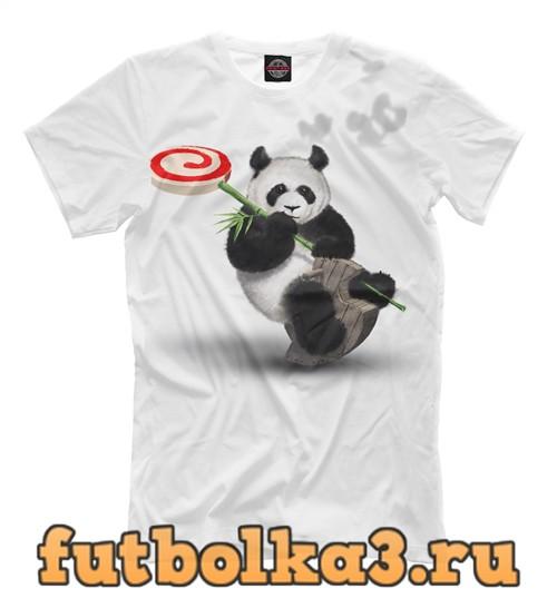 Футболка Панда наполеон мужская