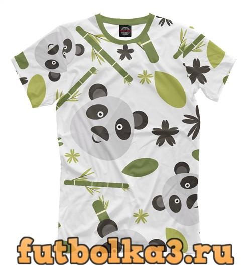 Футболка Panda pattern мужская