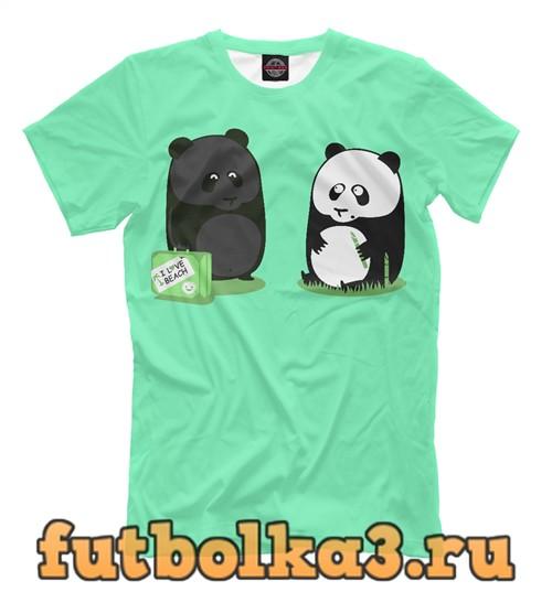 Футболка Панды мужская