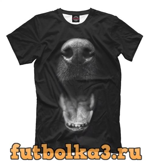 Футболка Пасть медведя мужская