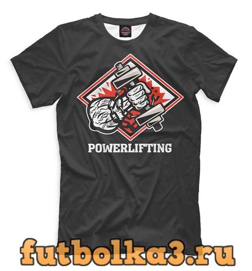 Футболка Пауэрлифтинг мужская
