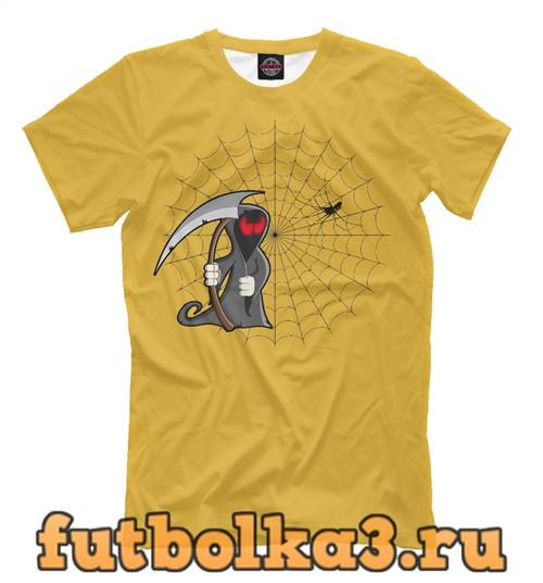 Футболка Паутина мужская