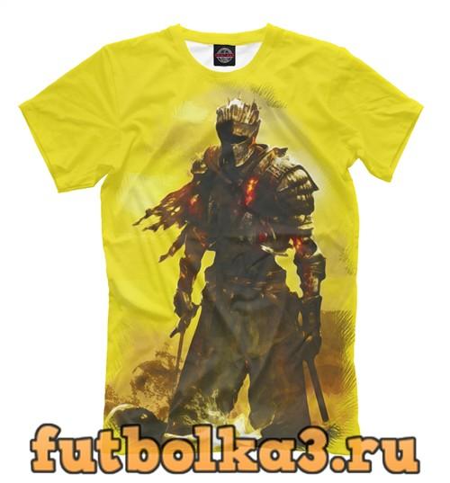 Футболка Пепельный воин мужская