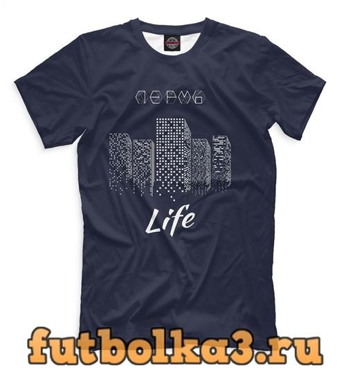 Футболка Пермь life мужская