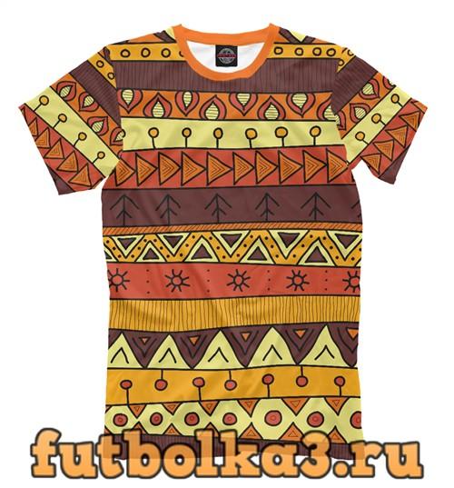 Футболка Перуанский узор мужская
