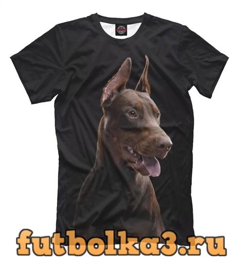 Футболка Пес мужская