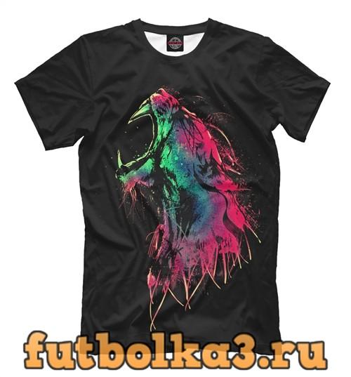 Футболка Саблезубый тигр мужская