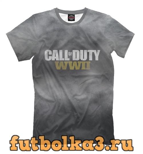 Футболка Сall of duty мужская