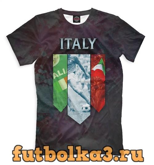 Футболка Сборная италии мужская