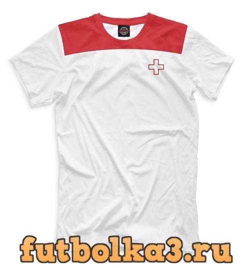Футболка Сборная швейцарии мужская