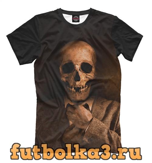 Футболка Скелет в костюме мужская