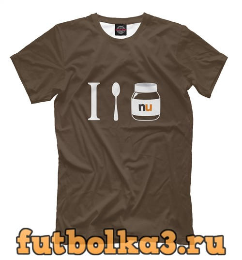 Футболка Сладкоежкам мужская