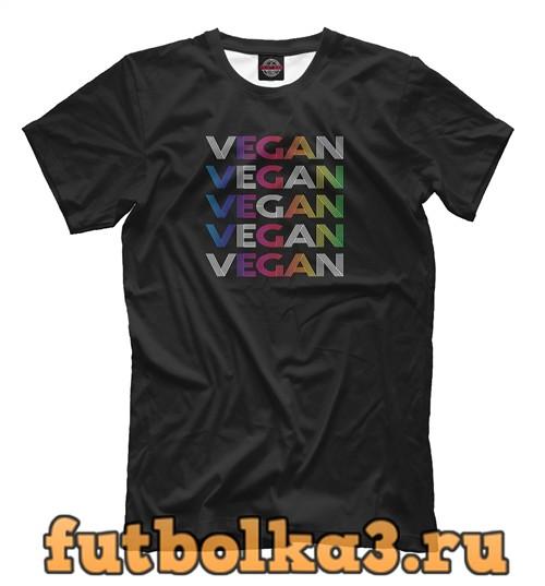 Футболка Colorful vegan мужская