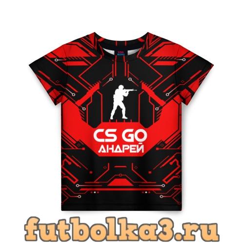 Футболка Counter Strike-Андрей детская