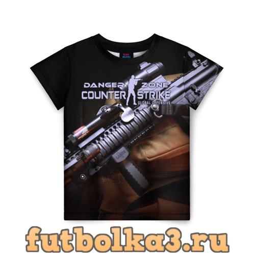 Футболка Counter Strike Danger Zone детская