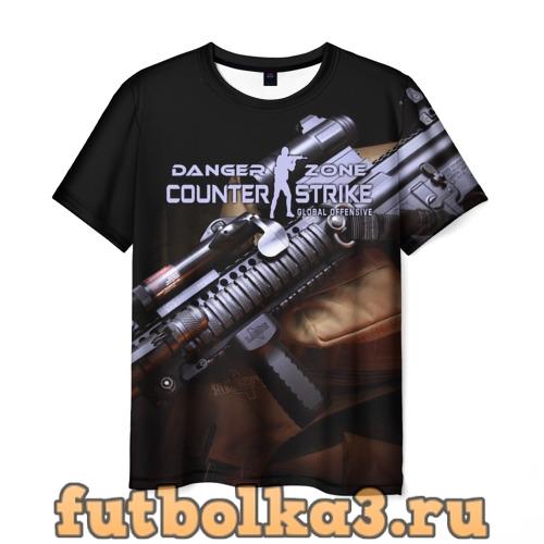 Футболка Counter Strike Danger Zone мужская