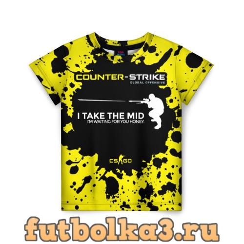 Футболка Counter-Strike Go Mid детская