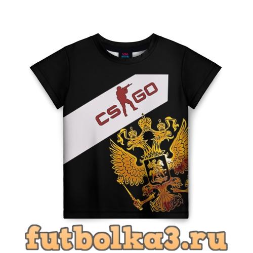 Футболка Counter Strike russia детская