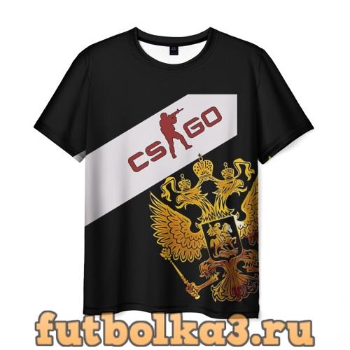 Футболка Counter Strike russia мужская