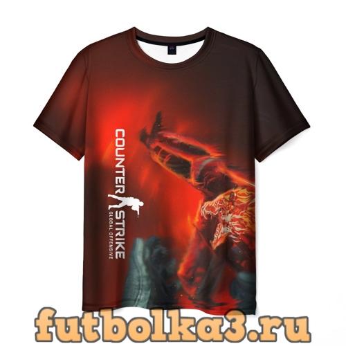 Футболка Counter Strike:Howl(Вой) мужская