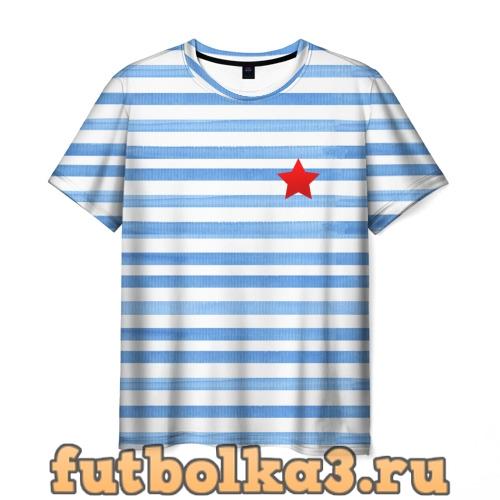 Футболка CountryHumans Россия Тельняшка мужская